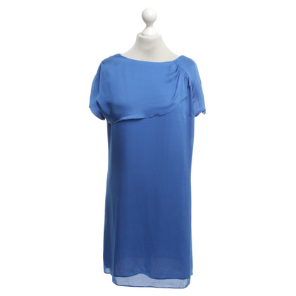 Hugo Boss Silk dress in blue