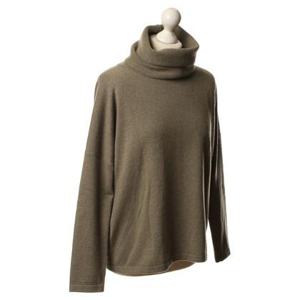 Fabiana Filippi Cashmere sweater in olive