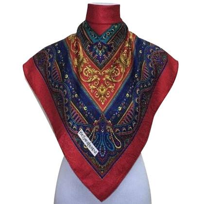 Yves Saint Laurent zijden sjaal