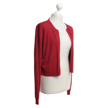 Sport Max Cardigan in red