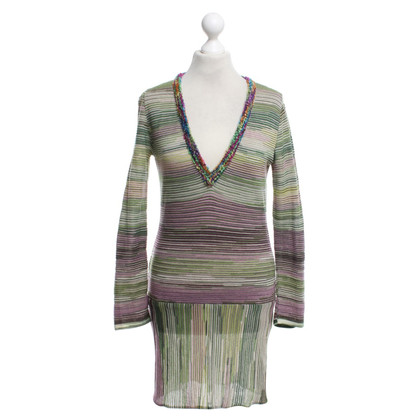 Missoni Striped sweater dress