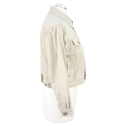 Calvin Klein Denim jacket in beige