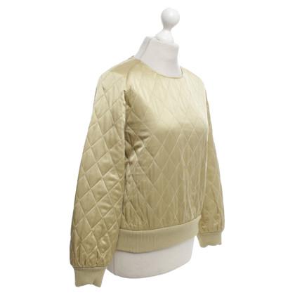 Max Mara Gold colored sweatshirt