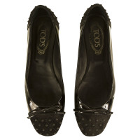 Tod's Black ballerinas