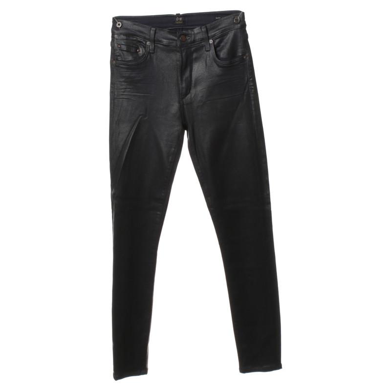 Citizens of Humanity Jeans met een geboende oppervlak