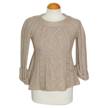 By Malene Birger Cable Knit wool sweater