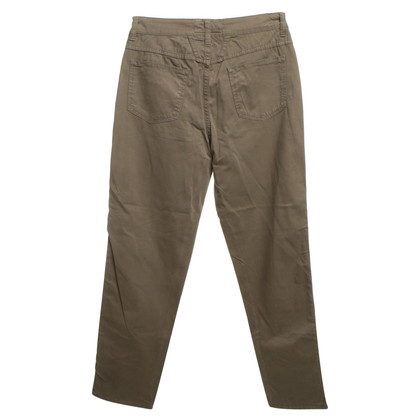"Closed trousers ""Pedal Pusher"" in Oliv"