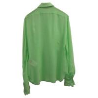 Emilio Pucci Silk blouse in green