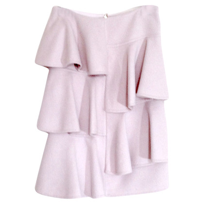 Marni Pink Wool Skirt