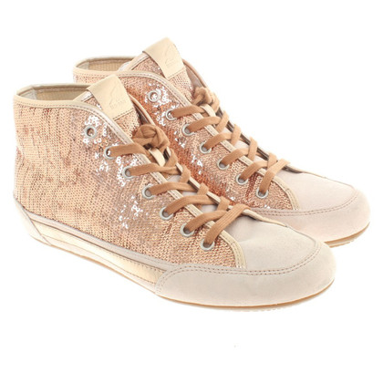 Hogan Sneakers with sequin trim