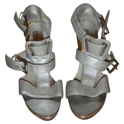 Michael Kors Zilverkleurige sandalen