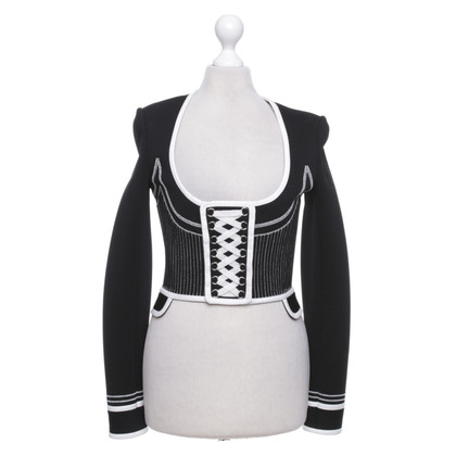 Givenchy  Bolero jacket in black / white
