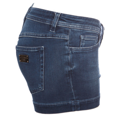 Dolce & Gabbana Pantaloncini di jeans blu scuro
