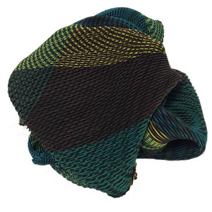 Issey Miyake groene sjaal