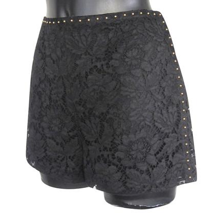 Valentino Shorts en dentelle