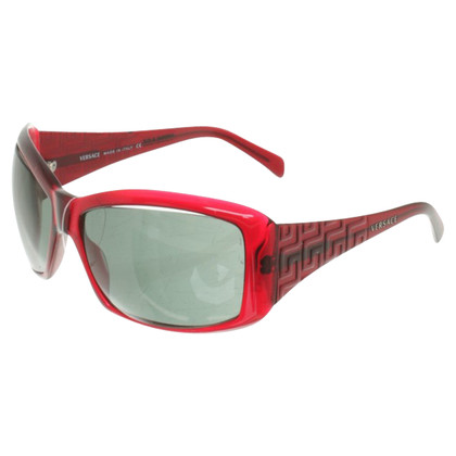 Versace Zonnebril in Rood