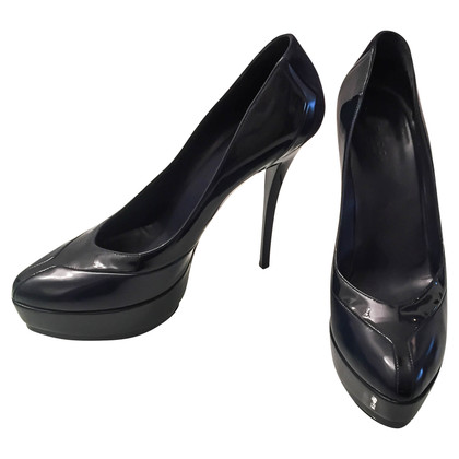 Gucci Dunkelblaue Pumps