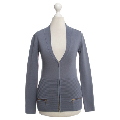 Reiss Strickjacke in Blau