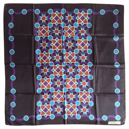 Givenchy motifs écharpe de soie