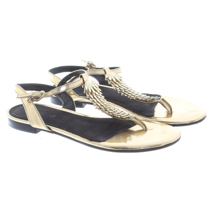 Nine West Zehentrenner aus Lackleder