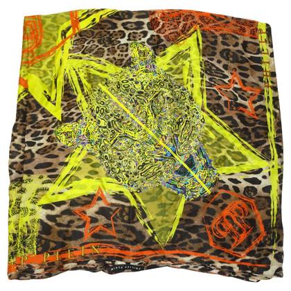 Philipp Plein zijden sjaal