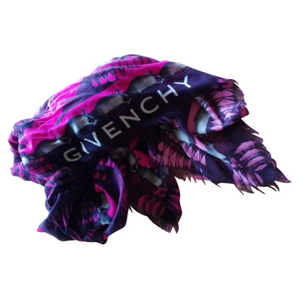 Givenchy Scarf with Armadillo Print