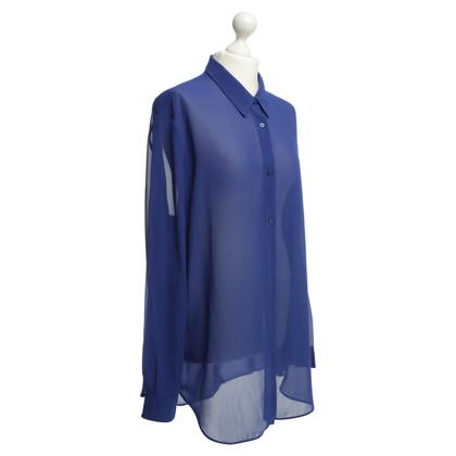 Acne Blusa in blu