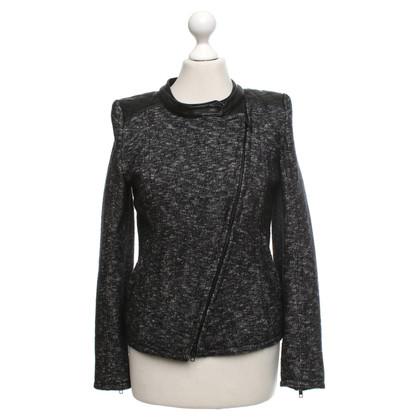 Drykorn Jacket in zwart / White