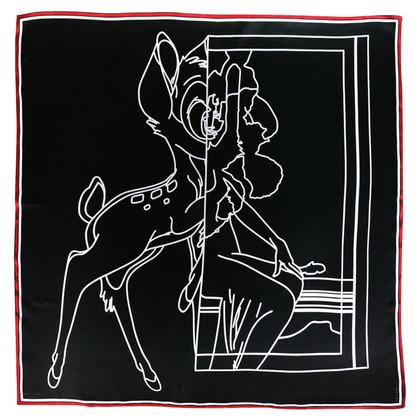 Givenchy Zijden sjaal met motiefprint