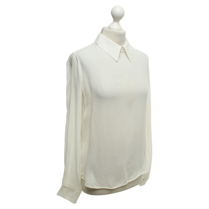 Forte Forte Blouse chemise en crème