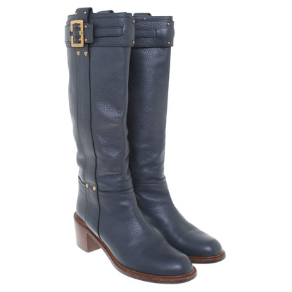 Chloé Boots in Blauw