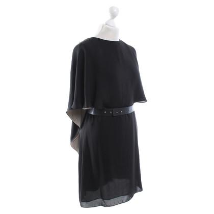 Halston Heritage Robe en noir / Beige