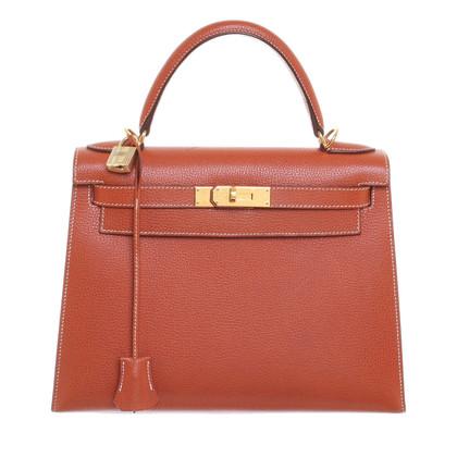 """Hermès """"Kelly Bag 28"""" aus Clémence-Leder"""