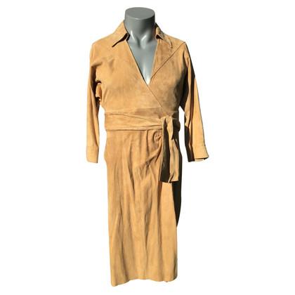 """Diane von Furstenberg Leather dress """"Evita"""""""
