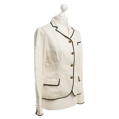 Ralph Lauren Linen blazer in cream