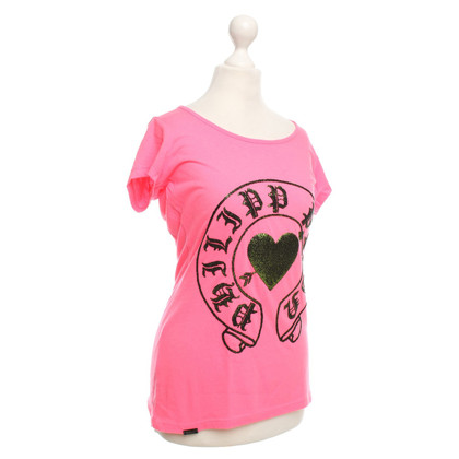 Philipp Plein T-Shirt in Pink