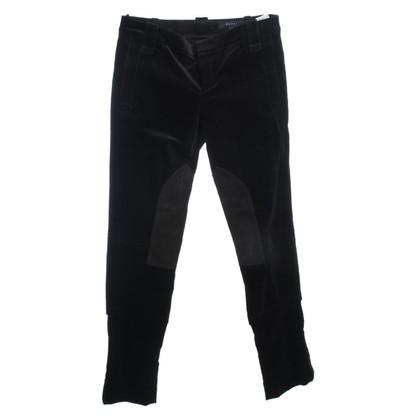 Gucci Samt-Jodhpurhose in Schwarz