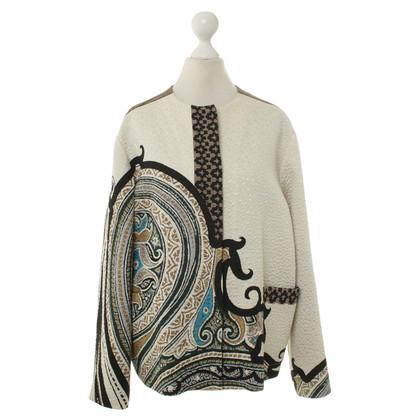 Etro Zijde jas met bloemenprint