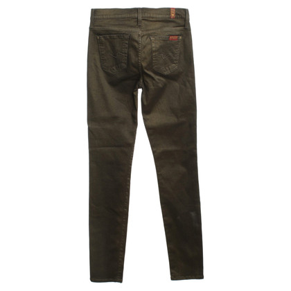 7 For All Mankind Hose in Khaki