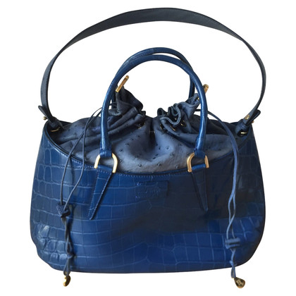 Fendi Handbag made of crocodile / ostrich leather