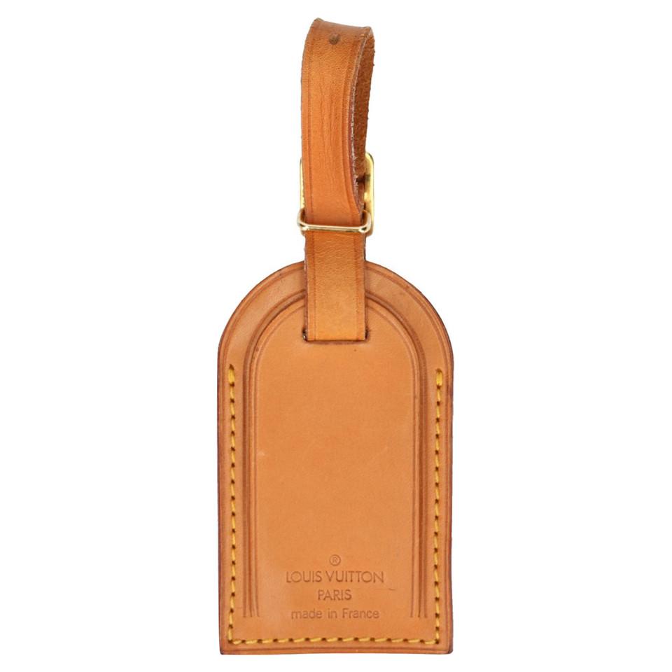 Louis Vuitton address tag