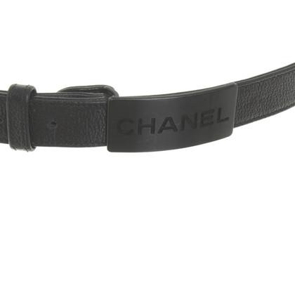 Chanel Gürtel in Schwarz