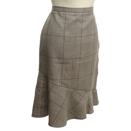 French Connection skirt with diamond pattern