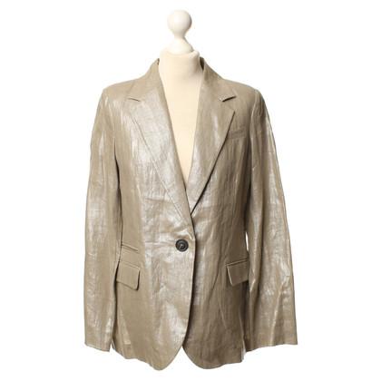 Comptoir des Cotonniers Blazer grigio con filato fantasia