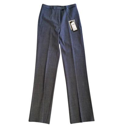 Marithé et Francois Girbaud pantaloni di lana grigio