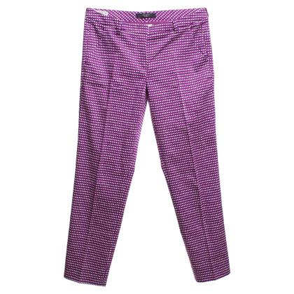 Max Mara Pantaloni con plaid