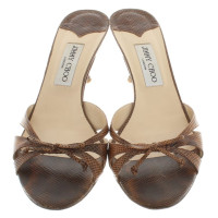 Jimmy Choo Sandals in brown