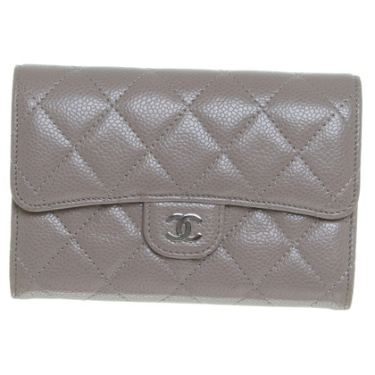 Chanel Portemonnee in Taupe