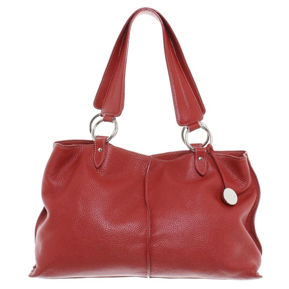 furla handtasche in rot second hand furla handtasche in rot gebraucht kaufen f r 200 00 755915. Black Bedroom Furniture Sets. Home Design Ideas