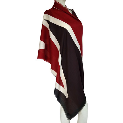 Burberry Prorsum XXL scarf with pattern